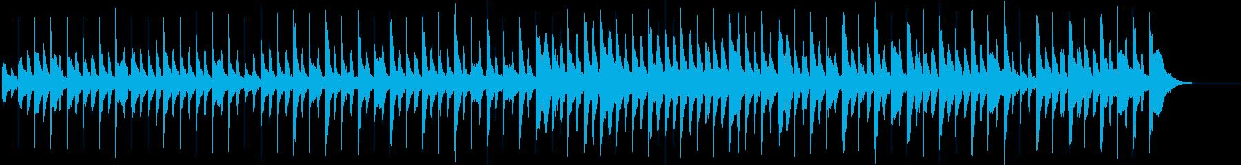 奇妙で軽快ハロウィン風ピアノ(SE無し)の再生済みの波形