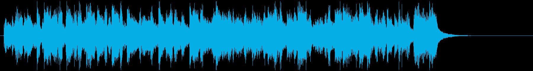 明るいノリノリなCM向けラテンサックスの再生済みの波形