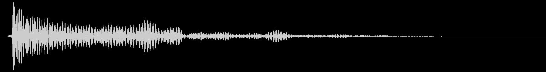 ドン(タムタム04)の未再生の波形