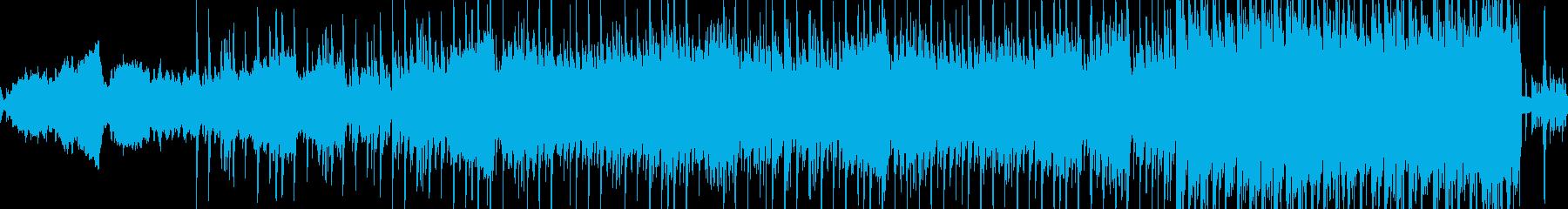 夜、ドライブ:エレクトロディスコビートの再生済みの波形