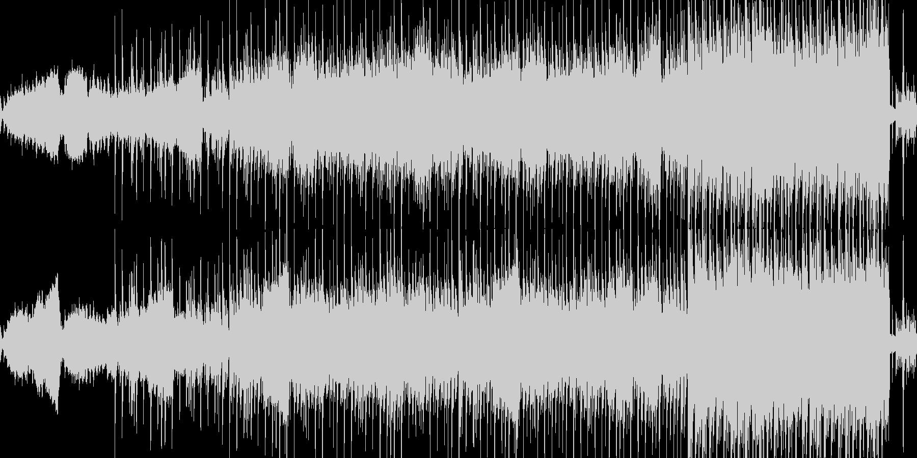 ループ:夜、ドライブ、エレクトロディスコの未再生の波形