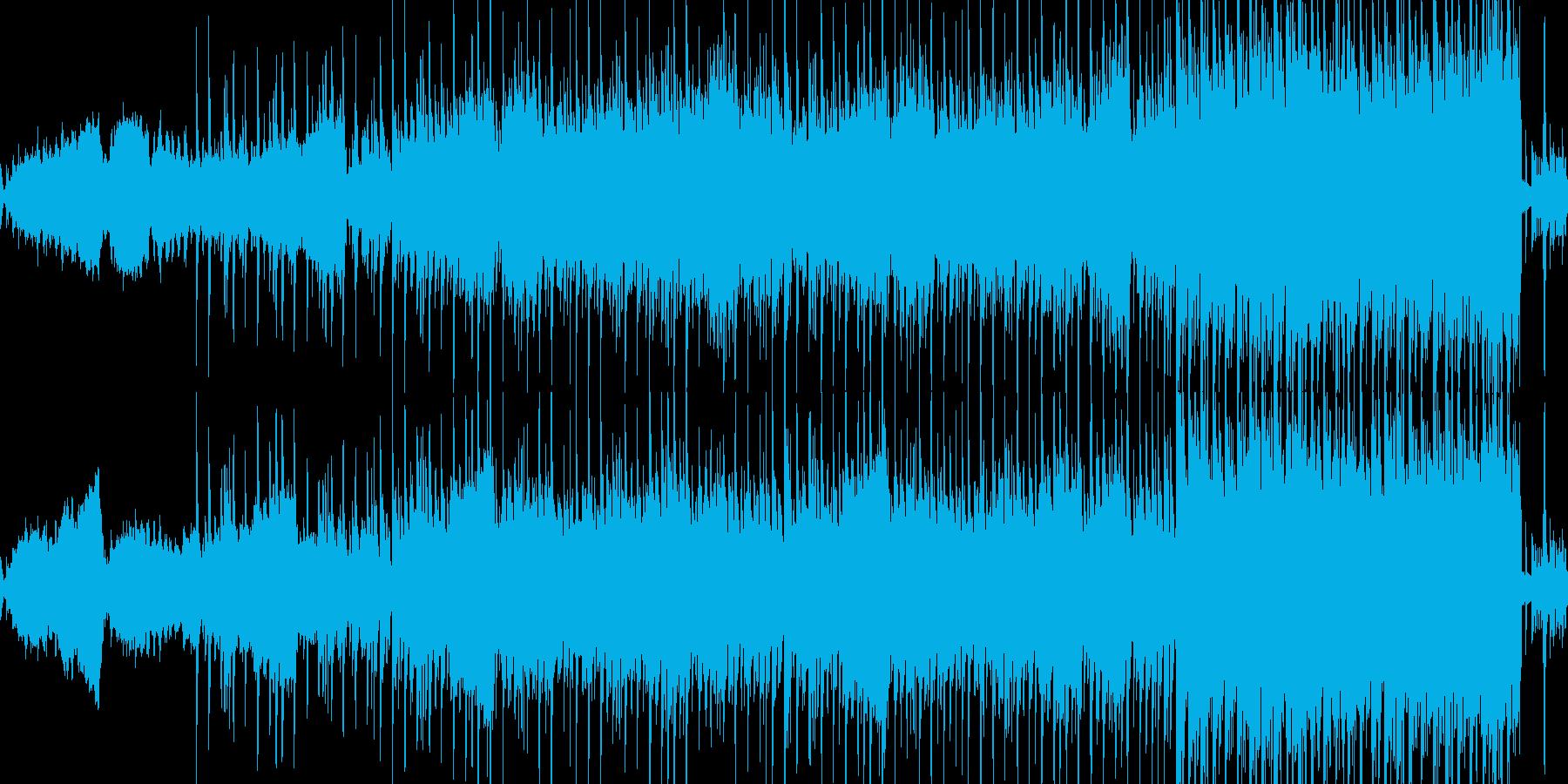 ループ:夜、ドライブ、エレクトロディスコの再生済みの波形