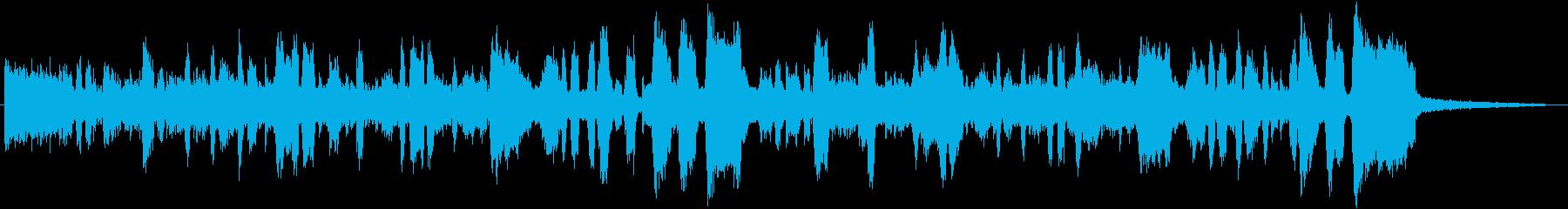 ししゃもをテーマにした作品の再生済みの波形