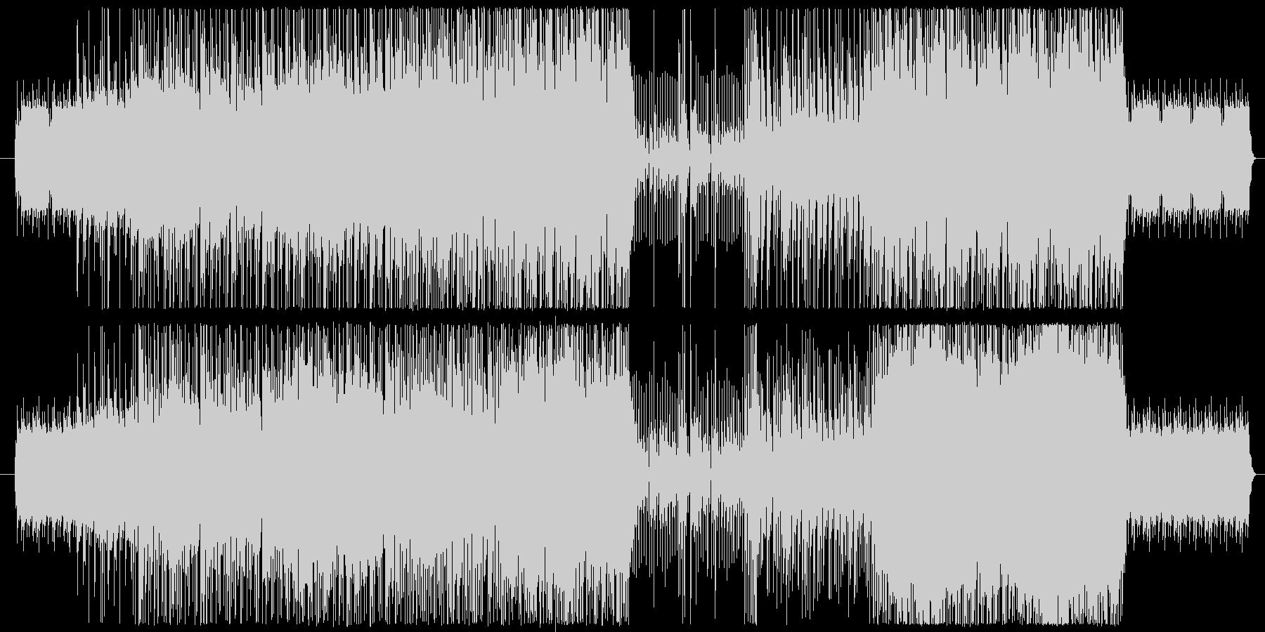 ほのぼのソフトロックの未再生の波形