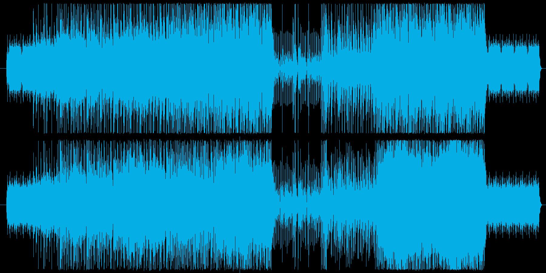 ほのぼのソフトロックの再生済みの波形