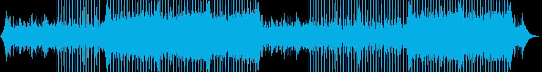 企業VP系23、爽やかギター4つ打ち2aの再生済みの波形