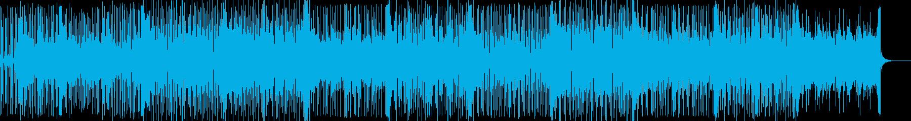 水の中に流れる清らかなメロディの再生済みの波形