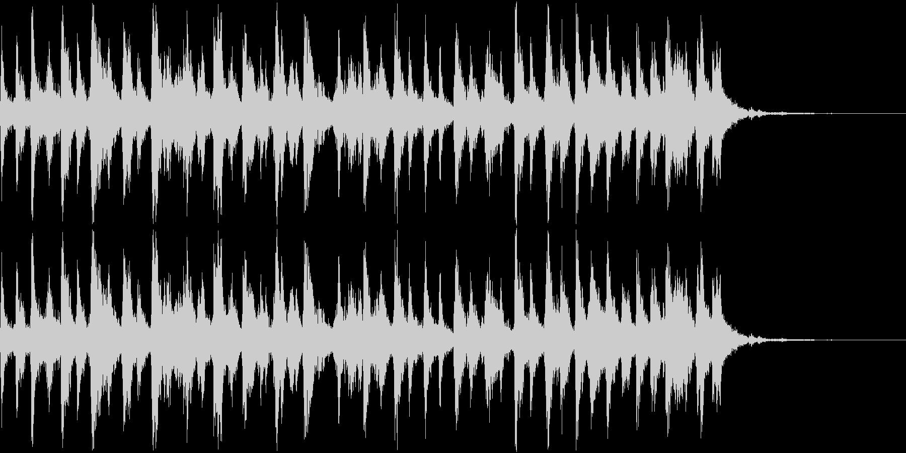 シャンシャンシャン クリスマスの鈴3の未再生の波形