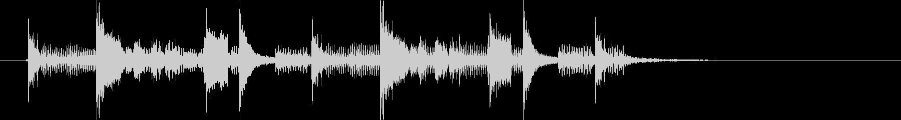 ソウルミュージックのサンプリング・ループの未再生の波形