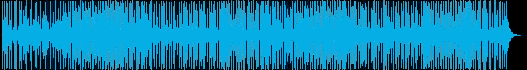 アップテンポでコミカルなBGM!の再生済みの波形