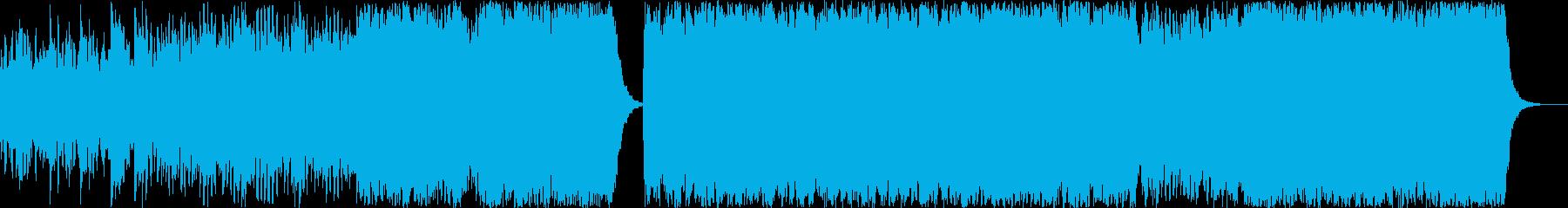 ピアノとライトオーケストラの刺激的...の再生済みの波形