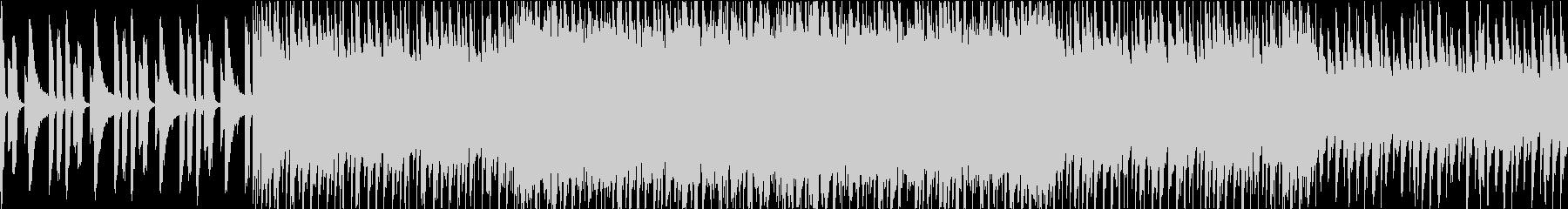 【日常系】ピアノでほのぼの&ワクワク感の未再生の波形
