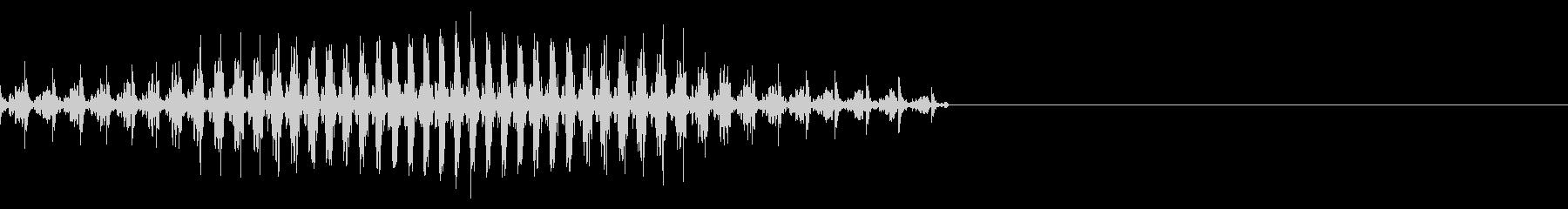 ピストンポンプ;モーター回転数、低...の未再生の波形