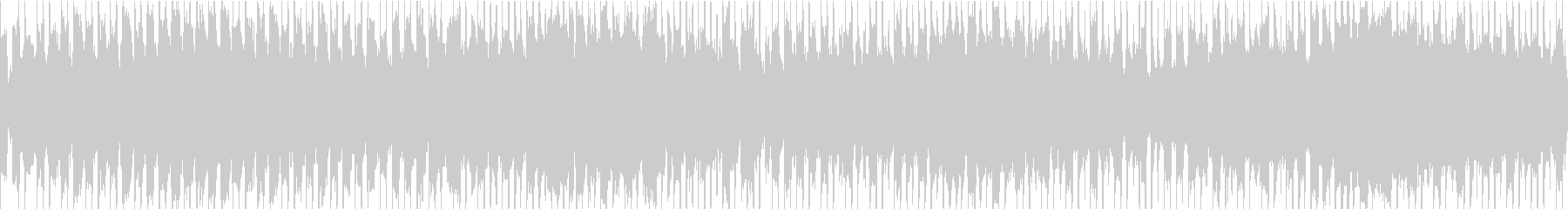 きらめき・シンプルで汎用性のあるループの未再生の波形