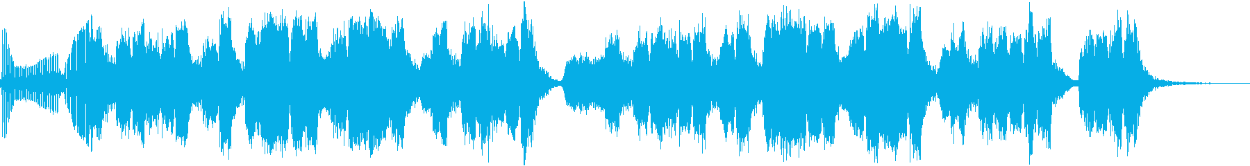 ちんどん屋風明るいジングルの再生済みの波形
