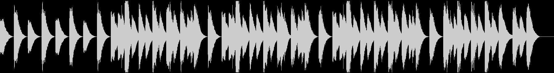 ほのぼの陽気なラグタイムピアノ の未再生の波形