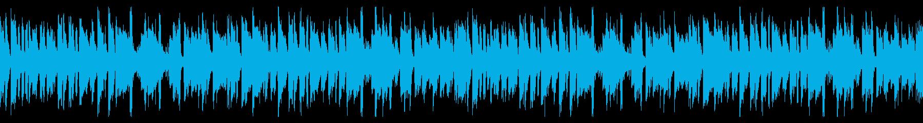 不思議な雰囲気でちょっと切ないピアノ曲の再生済みの波形