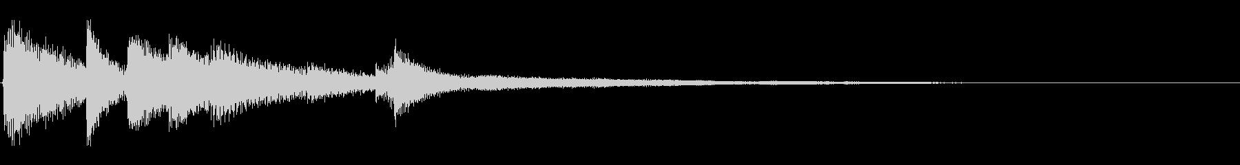 ピアノジングル03_bの未再生の波形