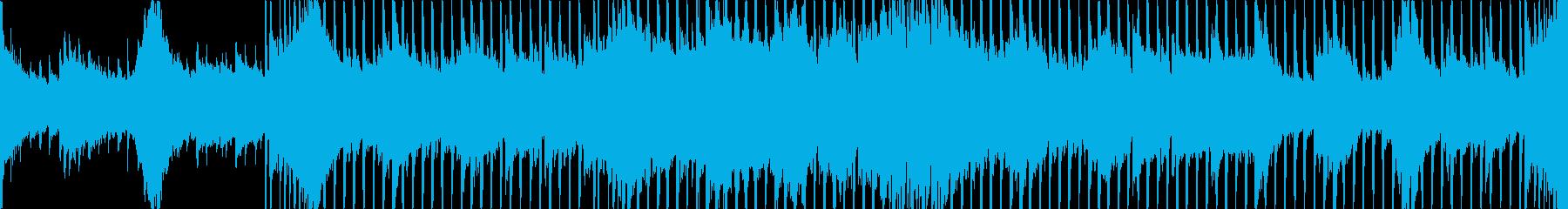 わくわくするような王道系の4打ちBGMの再生済みの波形