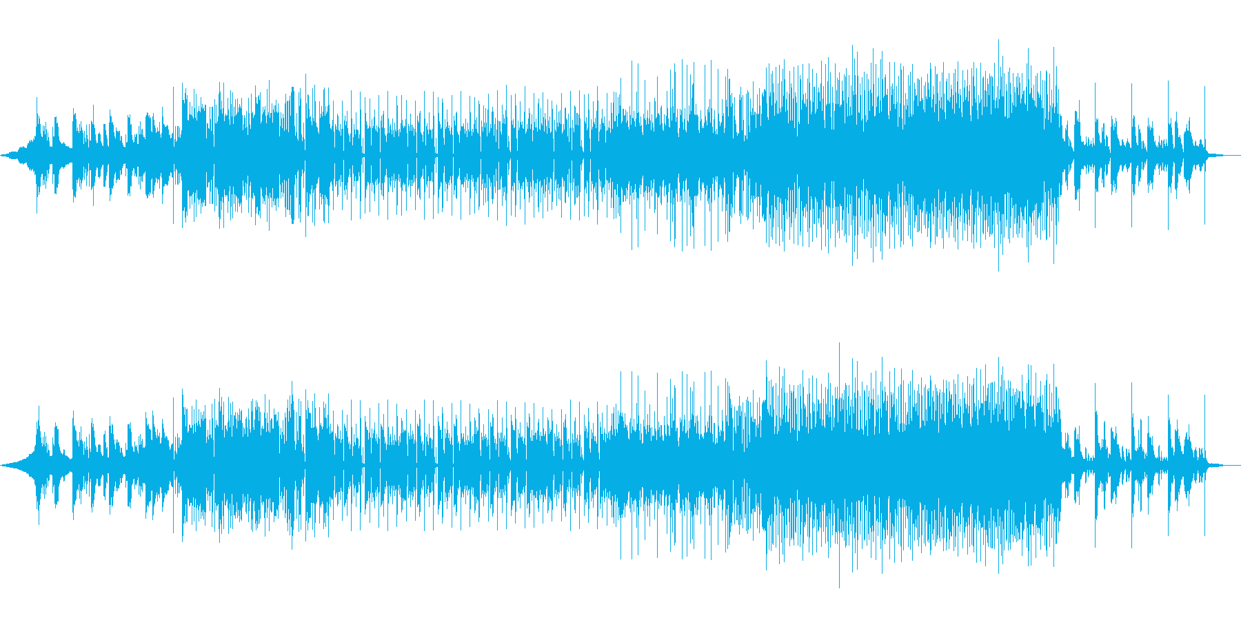 city pop、jazz、チップの再生済みの波形
