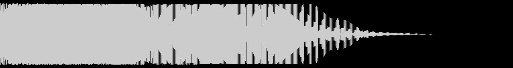 ヒューン(ワープする時の音)の未再生の波形