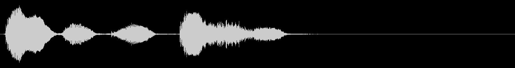バイオリン:トーキングアクセント、...の未再生の波形