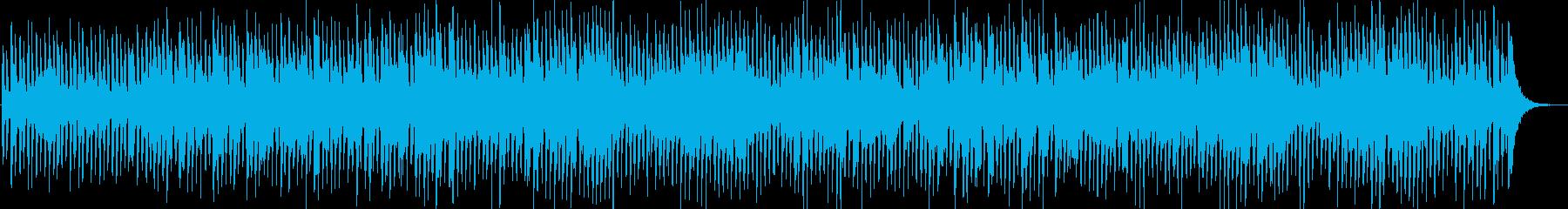 ほのぼのとしたジャズの再生済みの波形