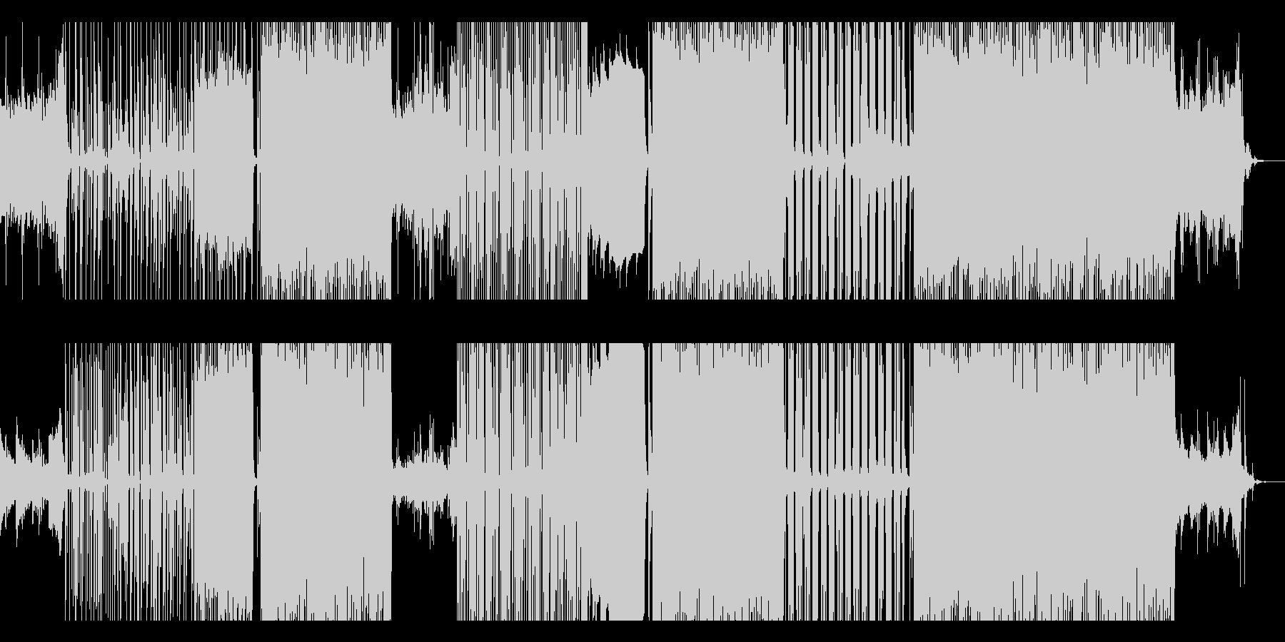ピアノ中心疾走感メロディアスな企業VPの未再生の波形