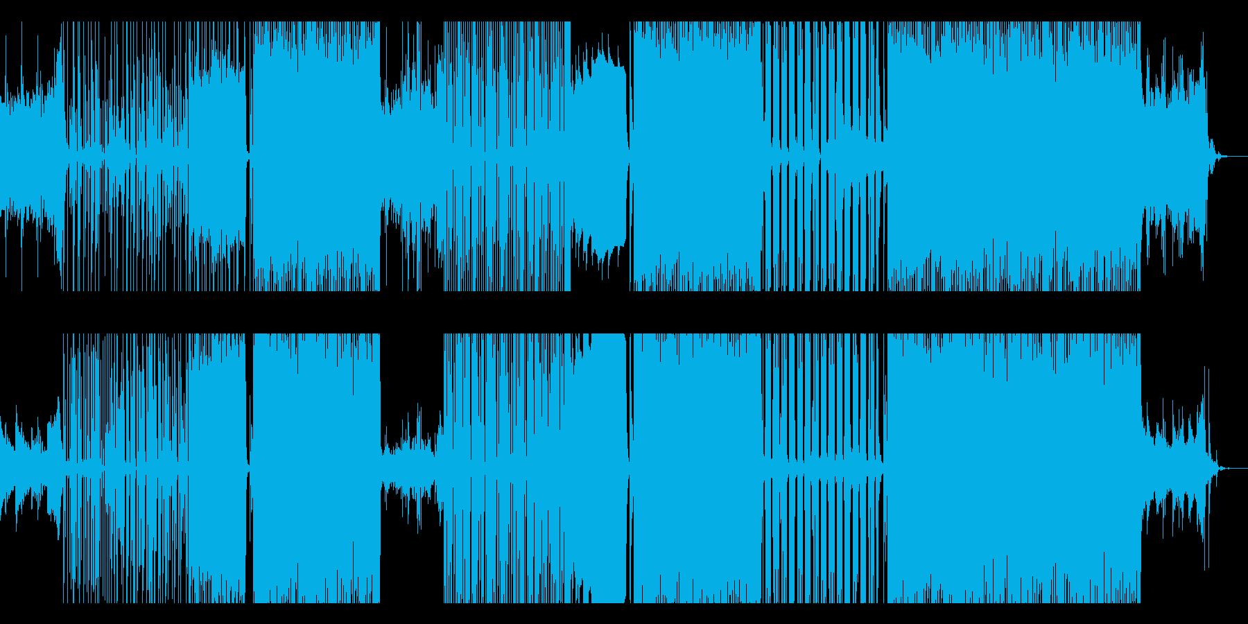 ピアノ中心疾走感メロディアスな企業VPの再生済みの波形