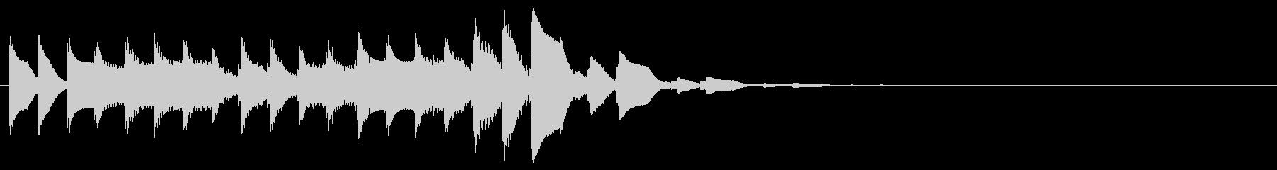 ズクジャンジャン… 高(トピック、題目)の未再生の波形