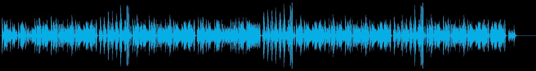 ピアノ練習曲っぽいコミカルなクラシックの再生済みの波形