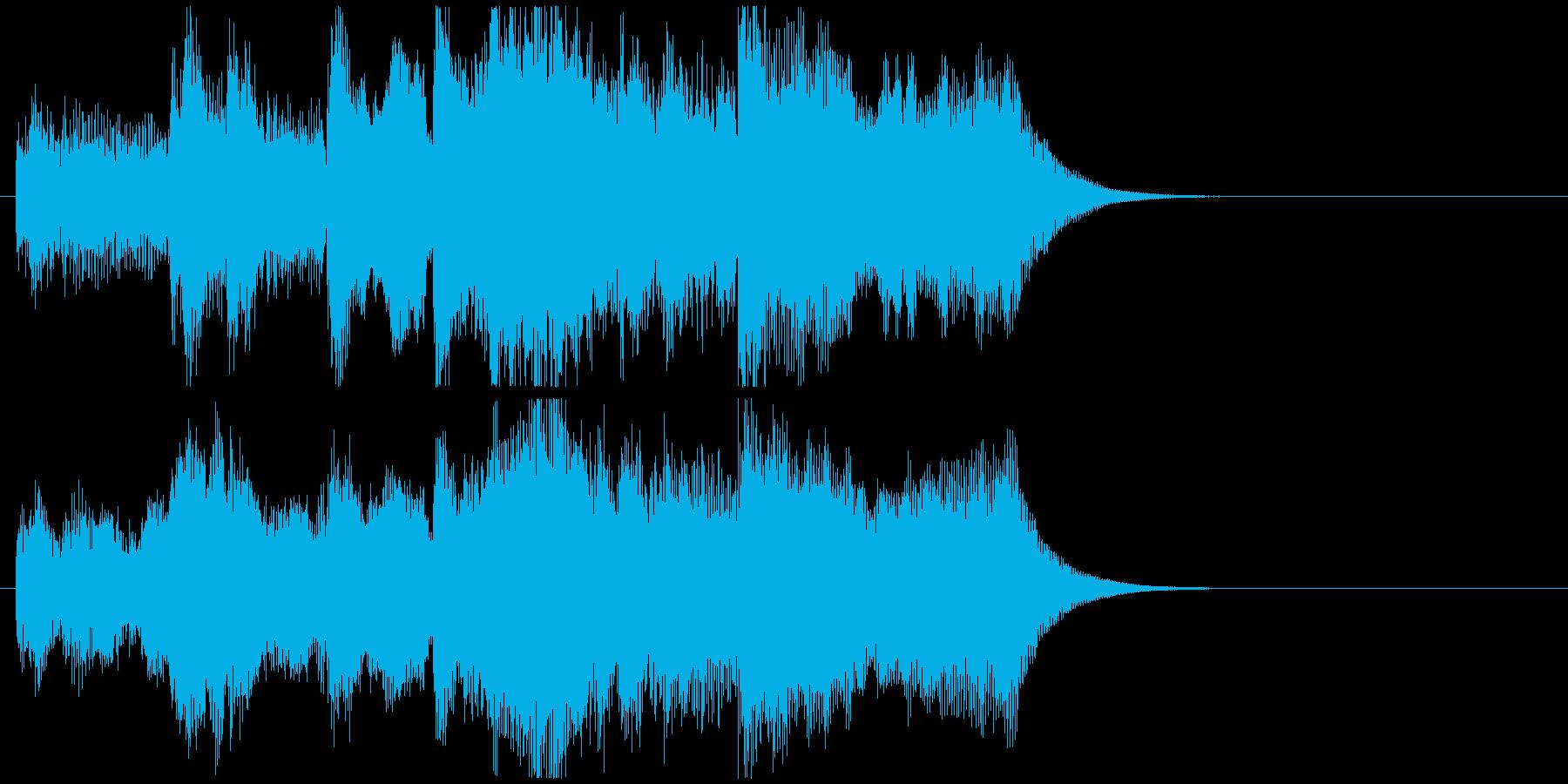 冒険が始まる壮大なオーケストラジングルの再生済みの波形