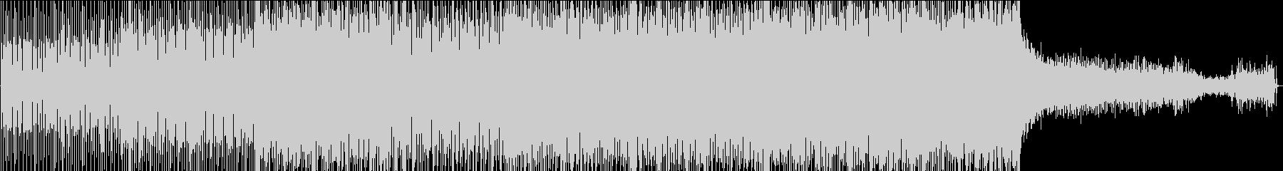 メロディックトランスハウスの未再生の波形
