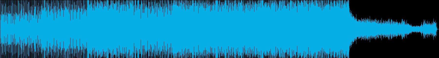 メロディックトランスハウスの再生済みの波形