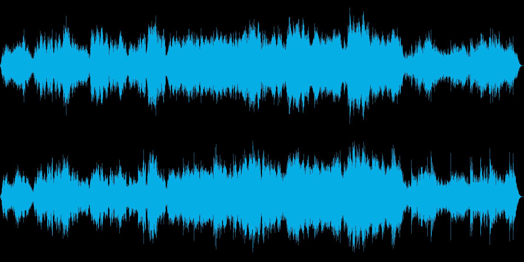 瞑想・ヨガ・神秘的 癒しのソルフェジオの再生済みの波形