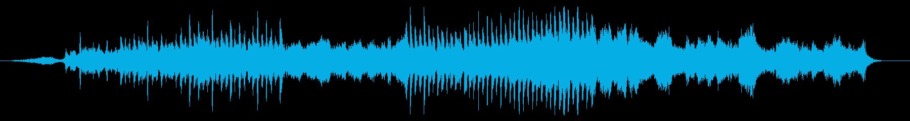 凛とした佇まいの和テイスト風オーケストラの再生済みの波形