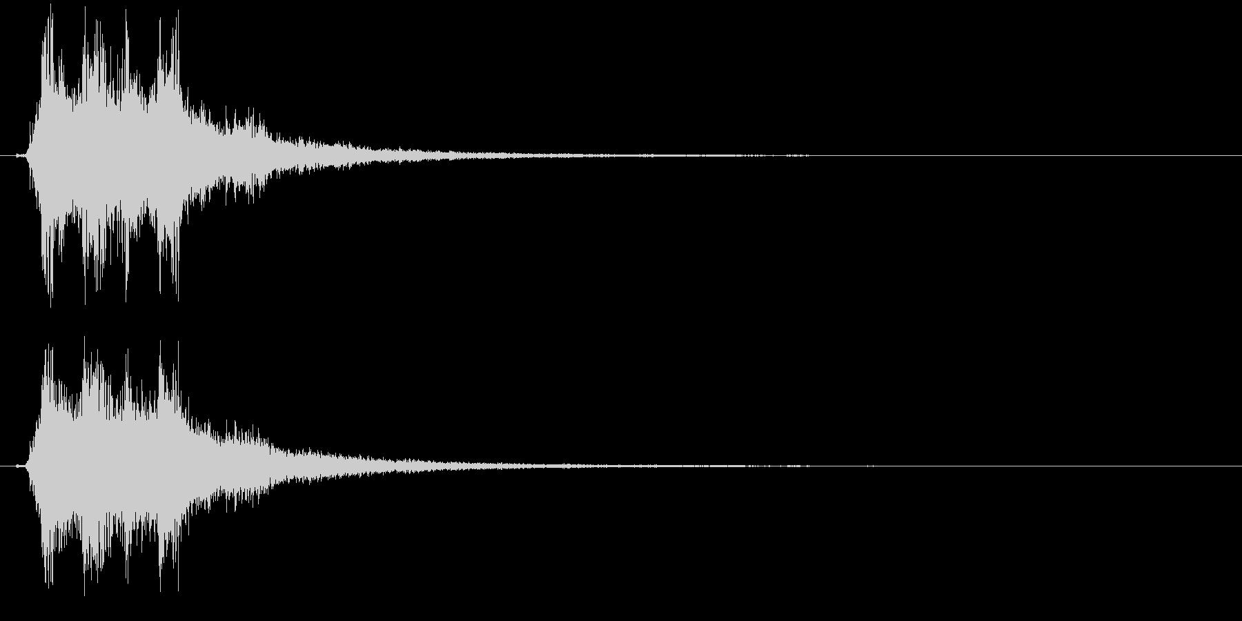 シャーン(キラキラ系、鈴、決定)の未再生の波形