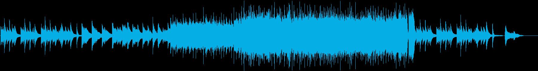 エンディング・感動的なバラードの再生済みの波形