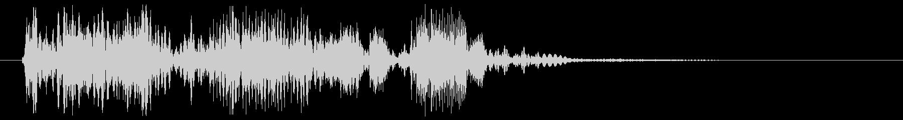衝撃変化、モーフ、ドラム、チャープ...の未再生の波形
