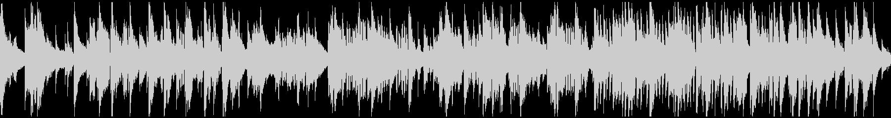 滑らかで暖かいバラード・ジャズ※ループ版の未再生の波形