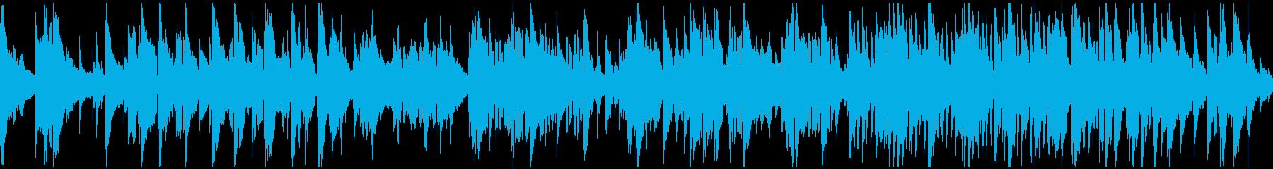 滑らかで暖かいバラード・ジャズ※ループ版の再生済みの波形