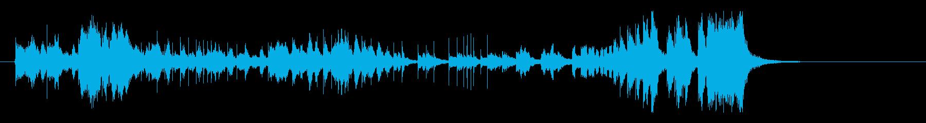 トムとジェリー風サントラ(最後の鐘なし)の再生済みの波形