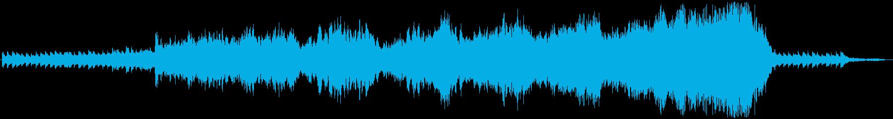 Cold Lake 60秒メロディー無しの再生済みの波形