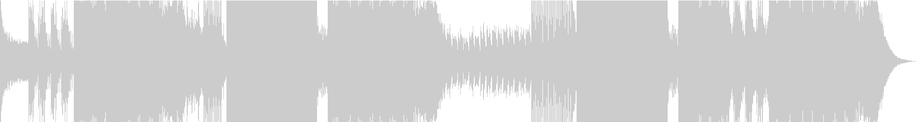 ピアノメロがキャッチーで使いやすいEDMの未再生の波形