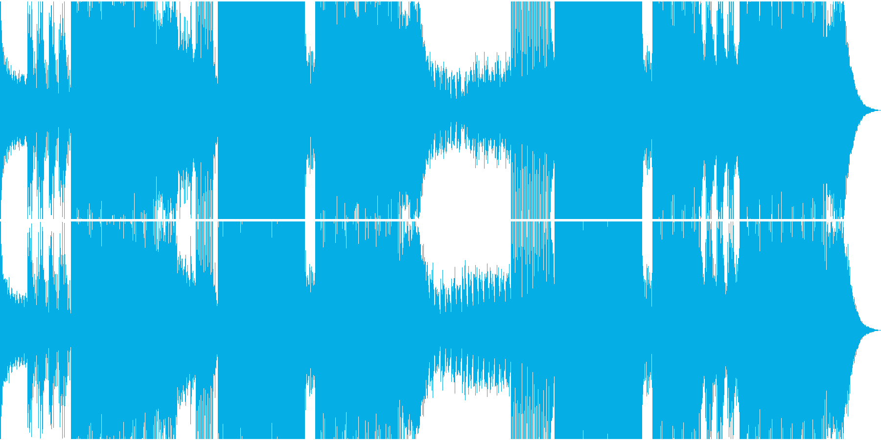 ピアノメロがキャッチーで使いやすいEDMの再生済みの波形
