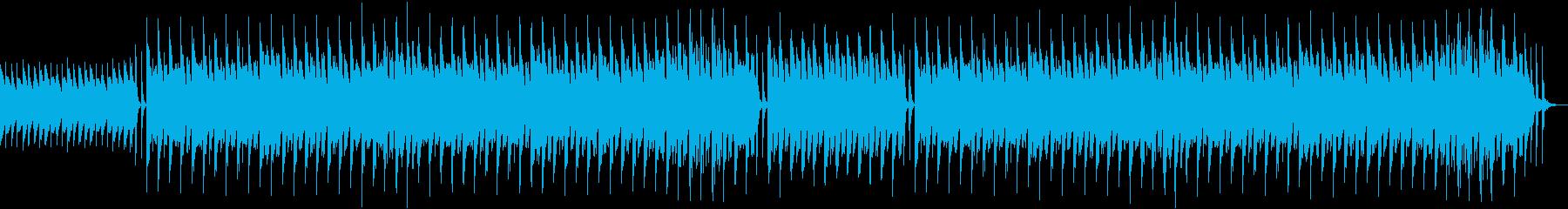 シンセメロディーなしの再生済みの波形