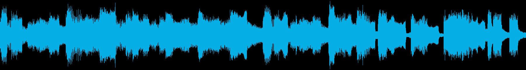 コミカルでのん気なキャラ・場所向けBGMの再生済みの波形