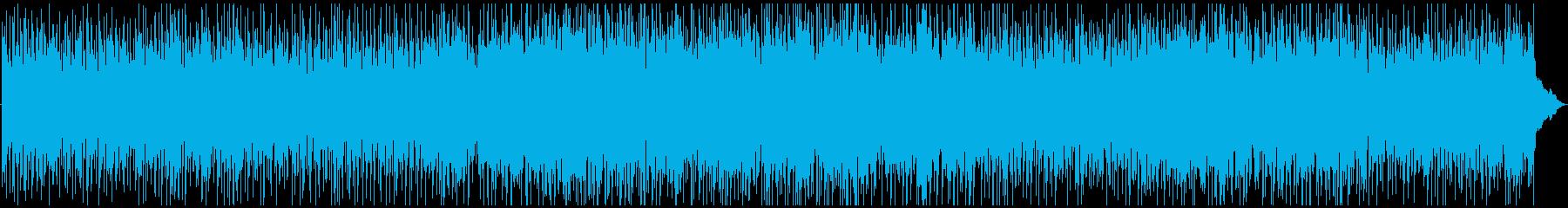 踊りたくなるようなケルティックジグの再生済みの波形