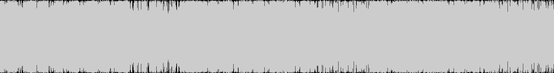 ベースを全面に押し出したドラムンベース…の未再生の波形