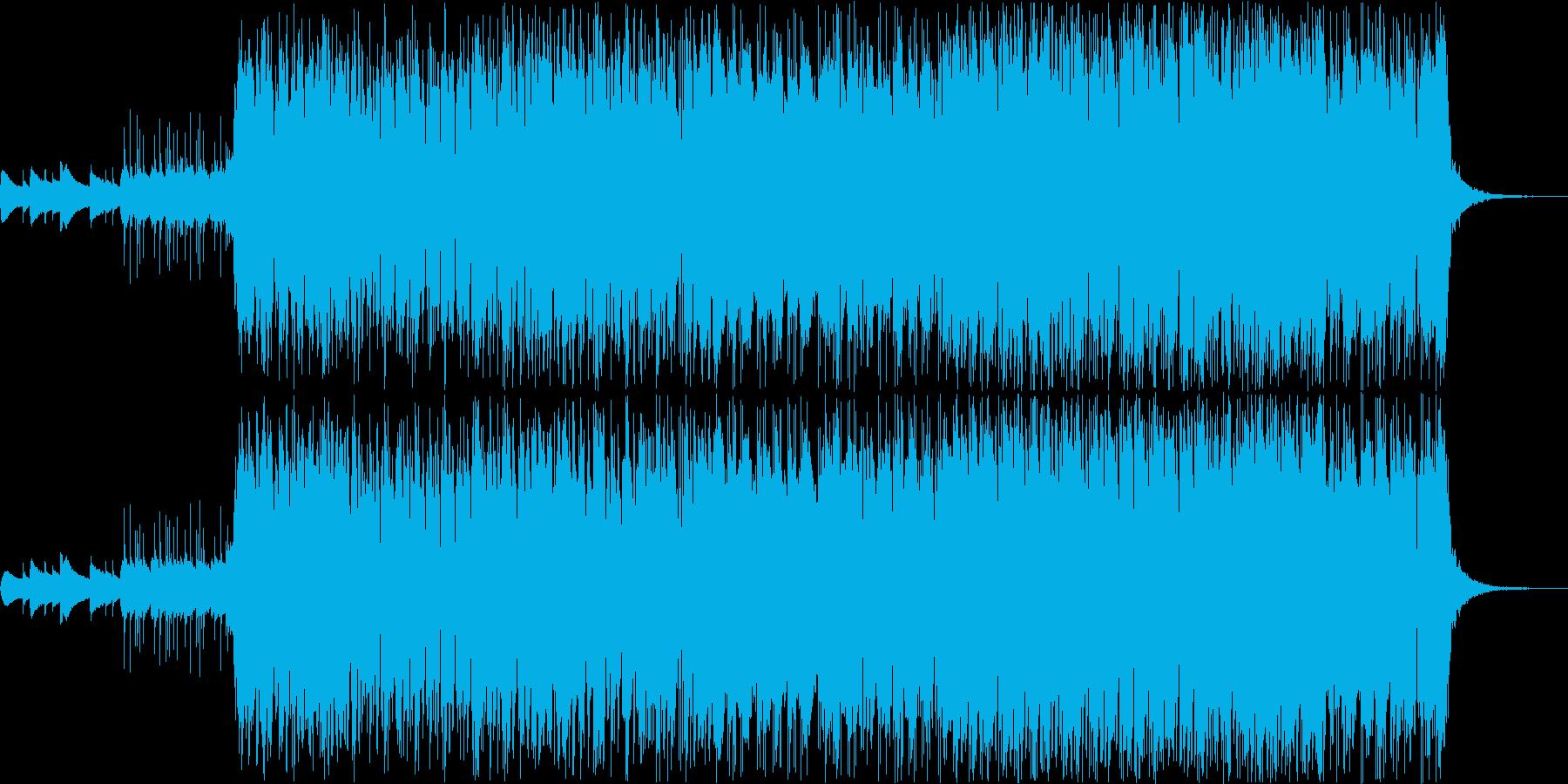 明るい感じのサウンド♪の再生済みの波形